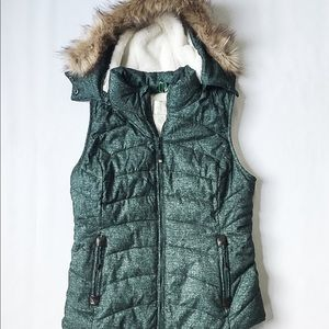 GreenTea Jackets & Coats - Green Tea Puffer Vest